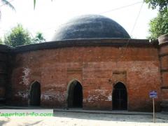 Doria Kha (Ronbijoypur) Mosque, Bagerhat