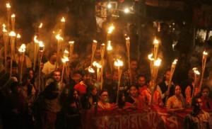 আন্দোলনের সুচনা কেন্দ্র শাহবাহ স্কায়ারের। ছবি: ওয়েব থেকে