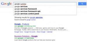google survises
