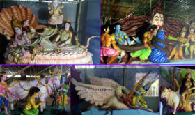 দুর্গোৎসব: বাগেরহাটে এক মণ্ডপে ৬৫১ প্রতিমা