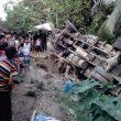 পণ্যবাহী ট্রাক উল্টে ঘুমন্ত যুবক নিহত